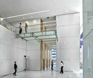 HSBC Place lobby