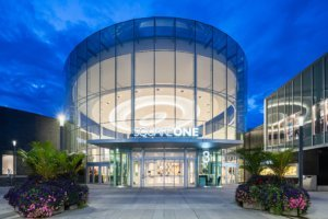 exterior shot of Square One